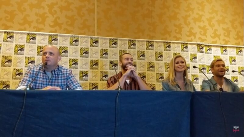 SDCC Press Conference: Eric Kripke and 'The Boys' Cast