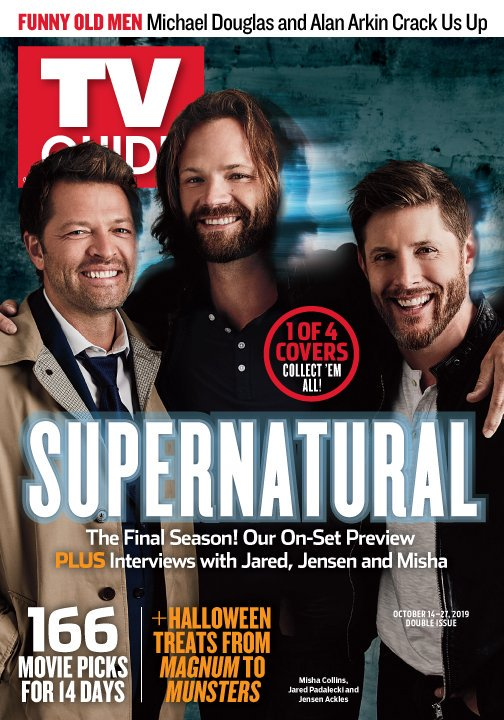 Tv Guide Magazine Releases Four Exclusive Supernatural