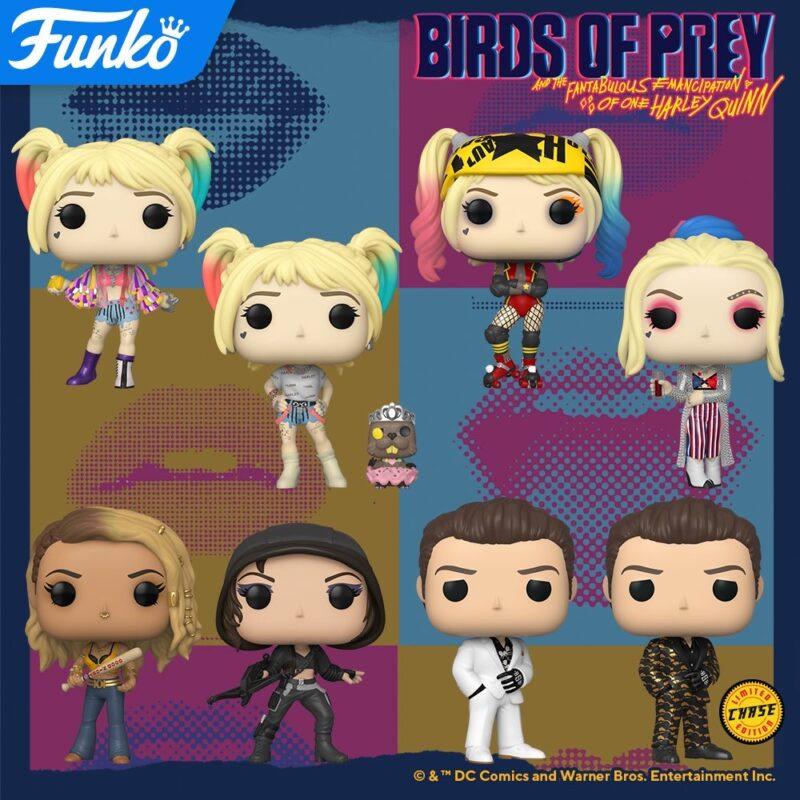 Birds Of Prey Funko Pop S Coming Soon Nerds And Beyond