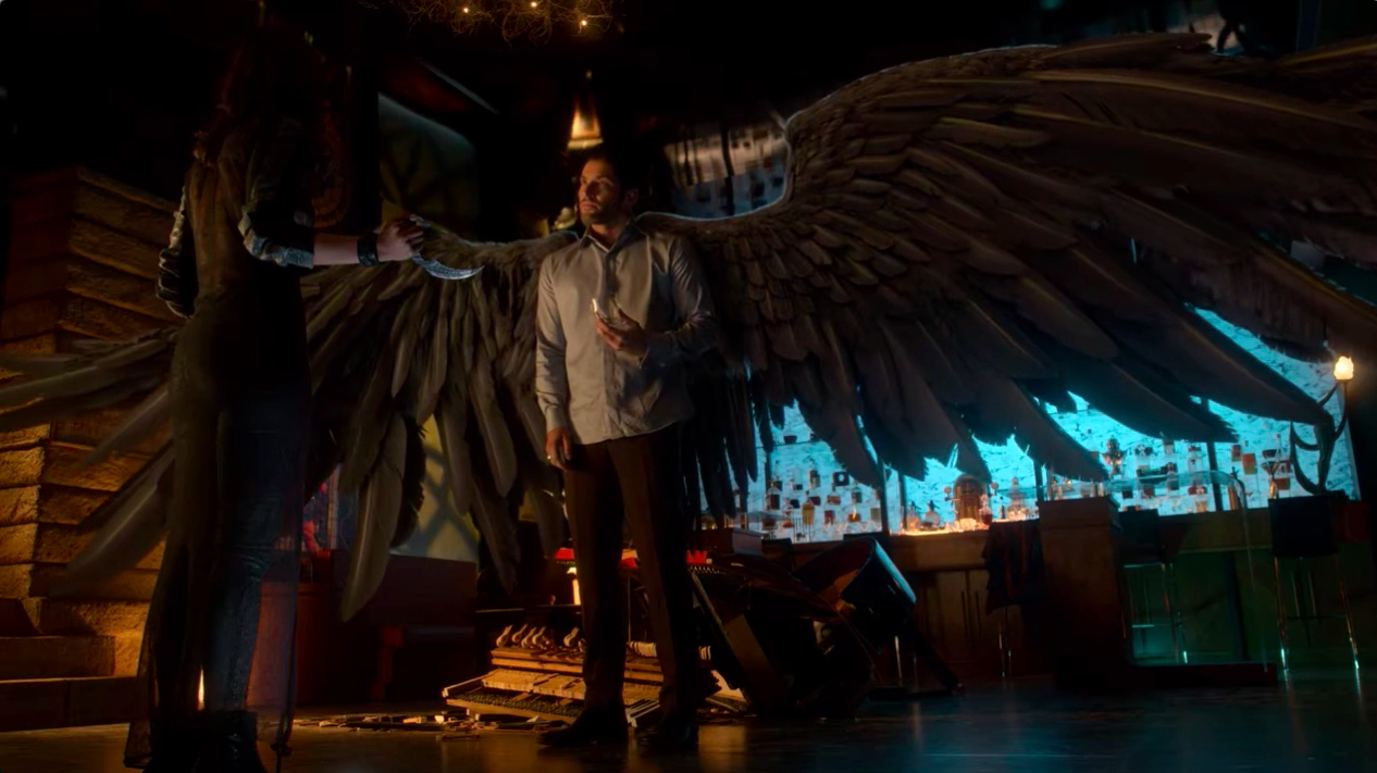A Sibling Rivalry Is Brewing In Lucifer Season 5 Episode 2 Lucifer Lucifer Lucifer Nerds And Beyond